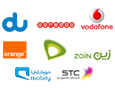 All GCC Service Providers Supported. STC, Etisalat, Du, Ooredoo, Mobily, Orange, Vodaphone, Zain